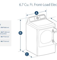 ft 10 cycle electric dryer white ns fdre67wh8a best buy [ 5000 x 3272 Pixel ]