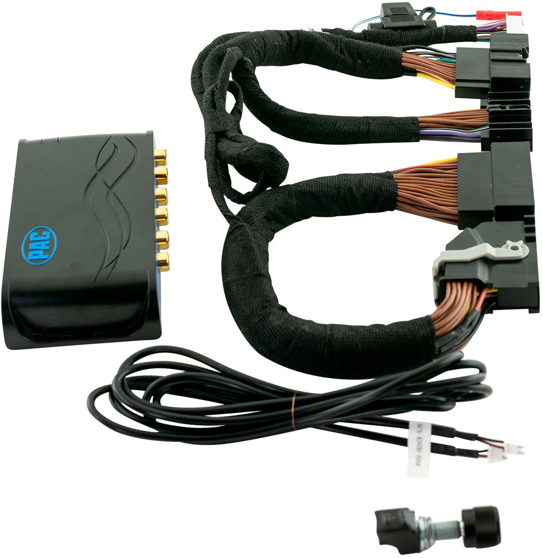 hight resolution of pac amppro advanced amplifier interface for select ford vehicles with 8 4 radio and sony system black blue ap4 fd21 best buy