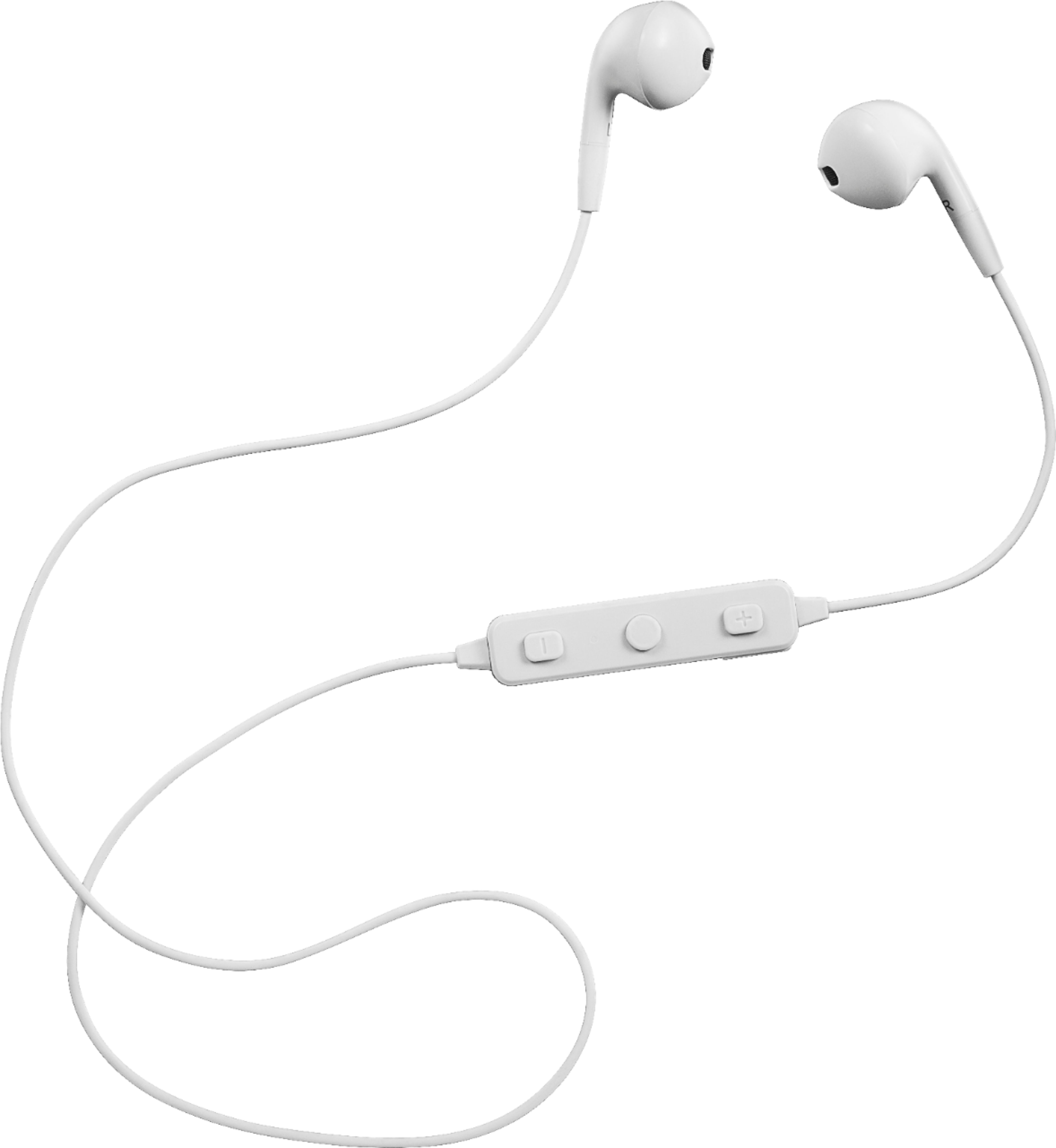 Insignia™ Wireless Earbud Headphones Off-white NS