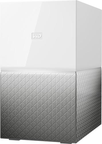 WD - My Cloud Home Duo 12TB 2-Bay Personal Cloud - White