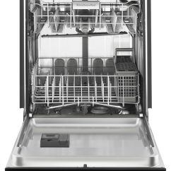 Kitchen Aide Dishwasher Non Skid Rugs Kitchenaid 24 Built In Silver Kdte334gps Best Buy