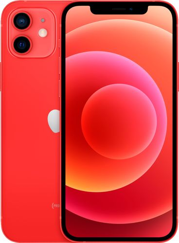 Apple - iPhone 12 5G 256GB - (PRODUCT)RED (Sprint)