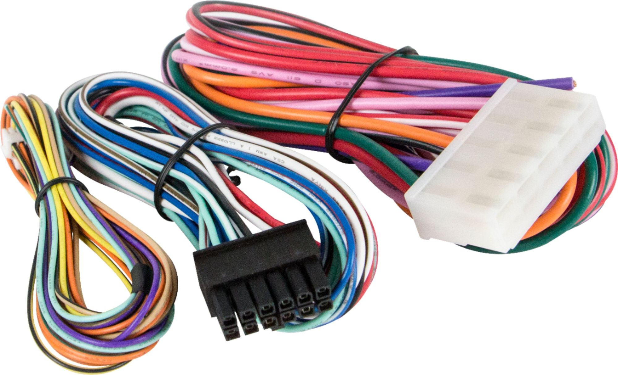 hight resolution of black wire harnes plug receptacle