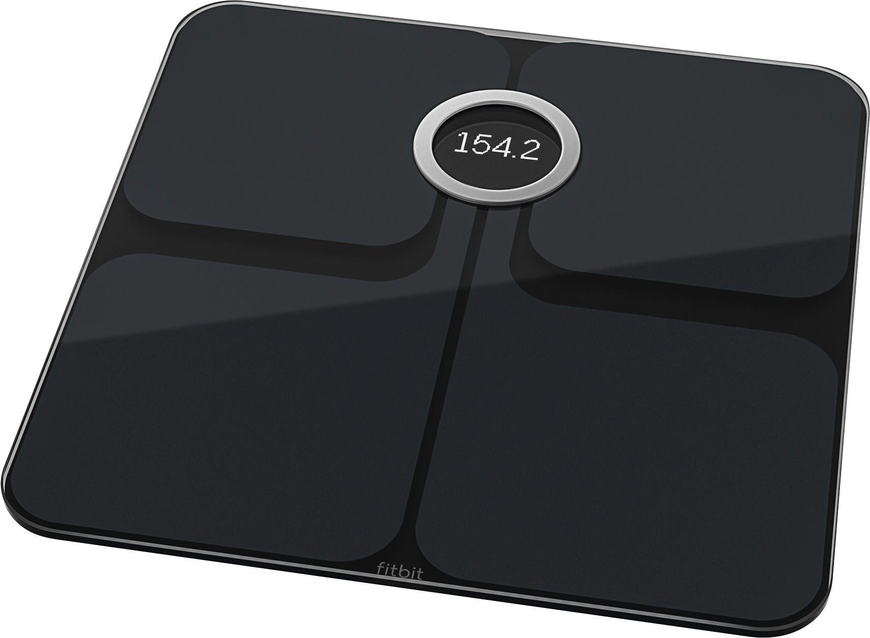 Best Buy: Fitbit Aria 2 Wi-Fi Smart Scale Black FB202BK