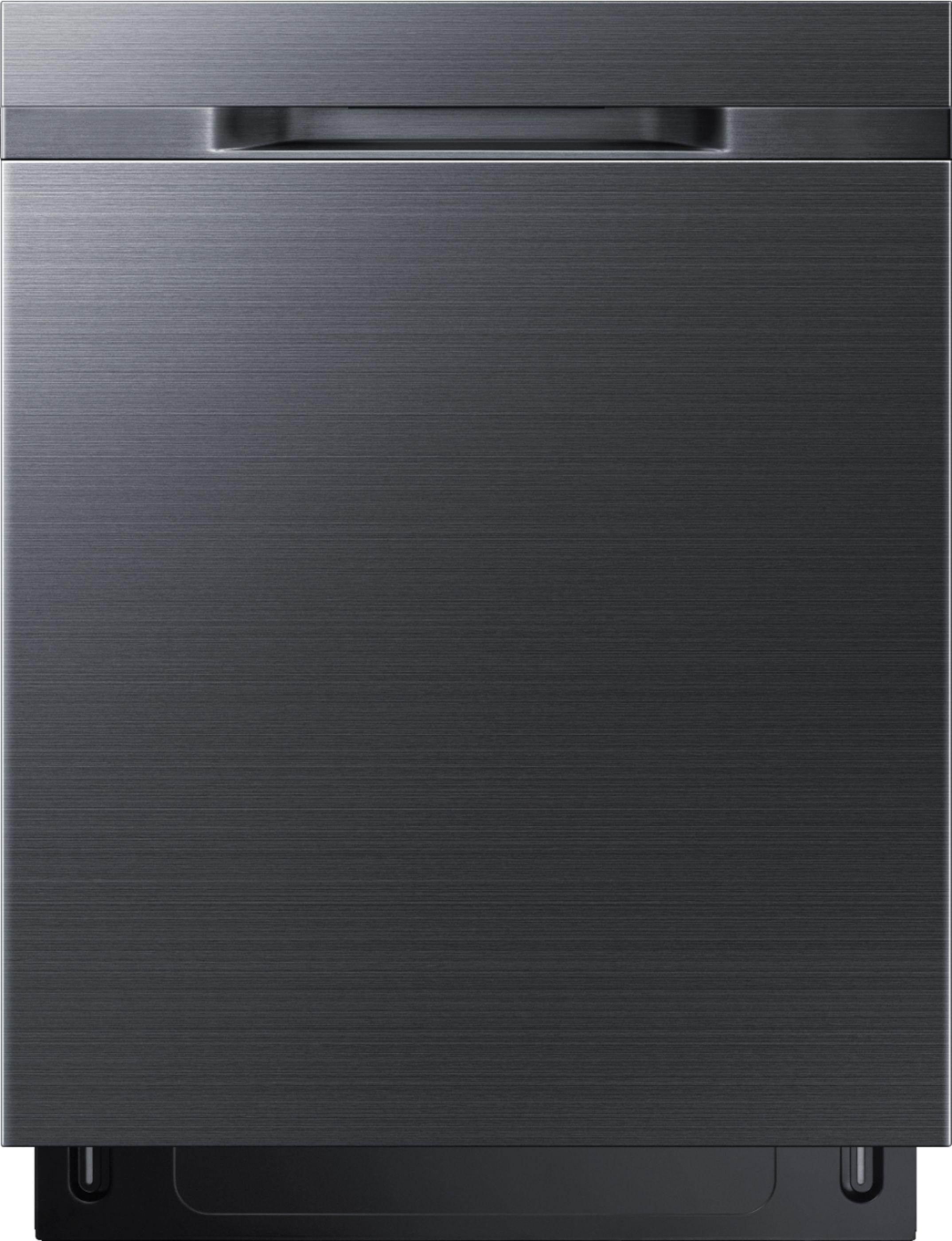 Samsung Dishwasher Kick Plate : samsung, dishwasher, plate, Samsung, Samsung-StormWash™, Control, Fingerprint, Resistant, Built-In, Dishwasher-Black, Stainless, Steel, Black, DW80K5050UG