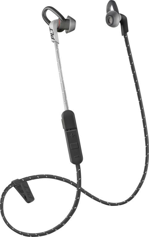small resolution of best buy plantronics backbeat fit 305 wireless in ear headphones gray black 209058 63