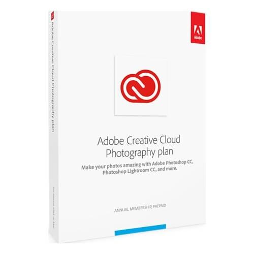Adobe - Creative Cloud Photography Plan (1-Year Subscription) - Multi