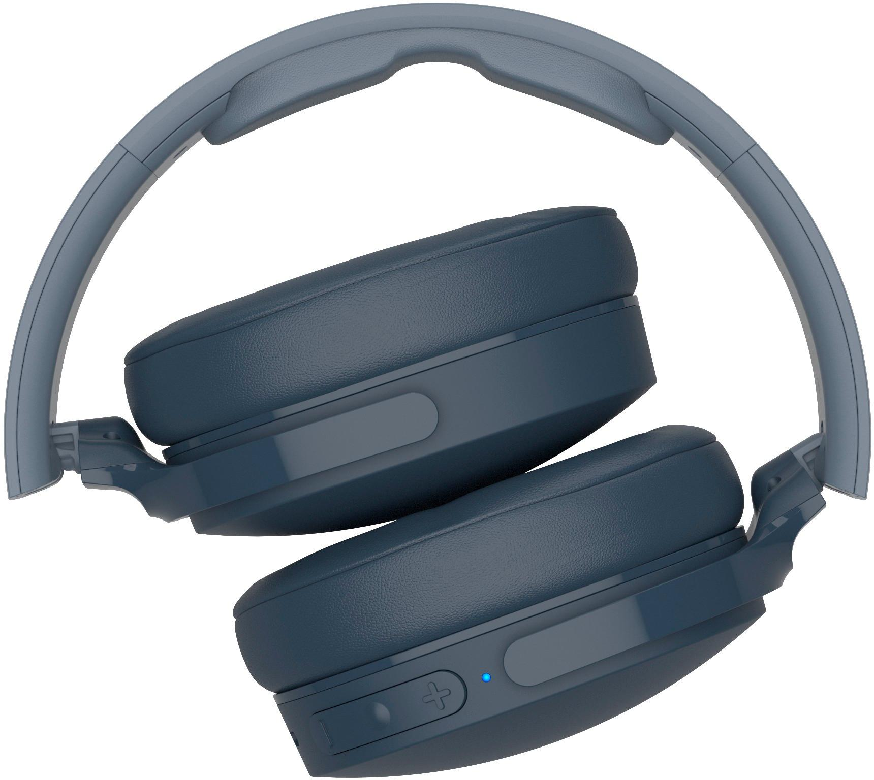 hight resolution of skullcandy hesh 3 wireless over the ear headphones blue s6htw k617 best buy