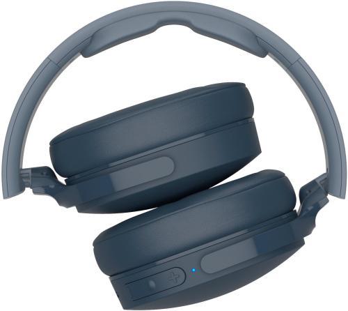 small resolution of skullcandy hesh 3 wireless over the ear headphones blue s6htw k617 best buy