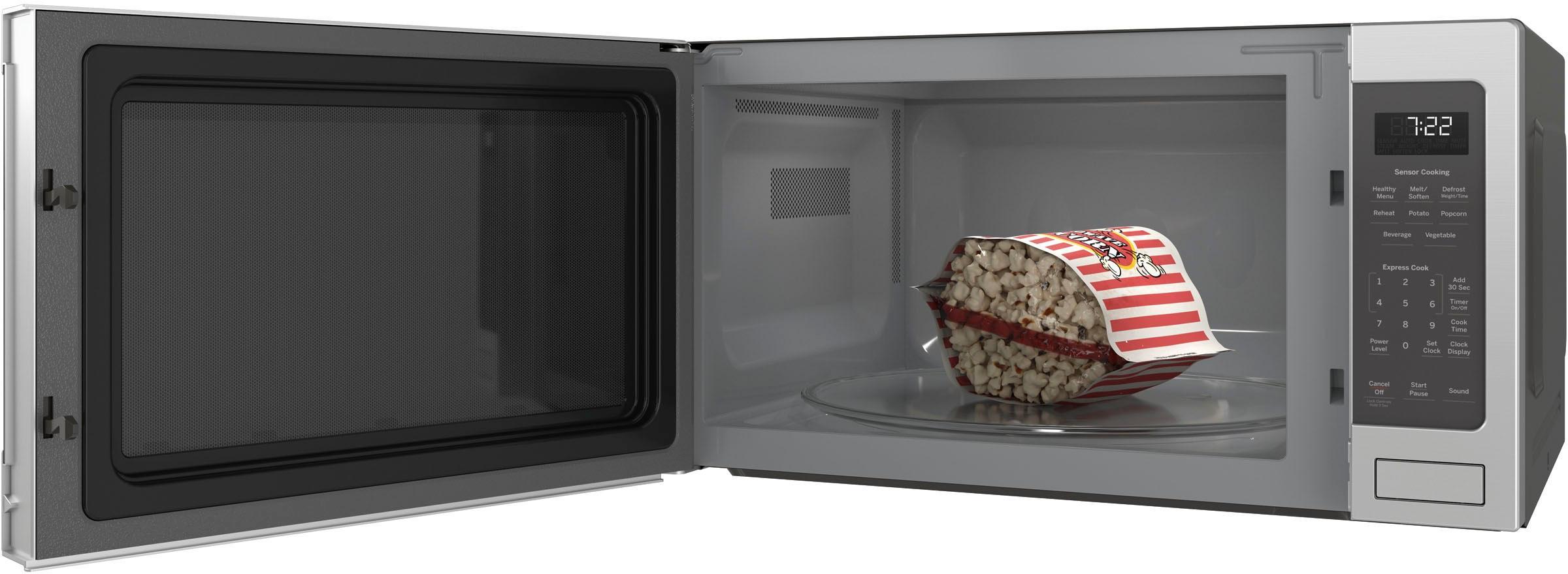 ge profile 2 2 cu ft microwave stainless steel