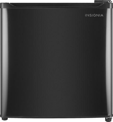 Insignia™ - 1.7 Cu. Ft. Mini Fridge - Black