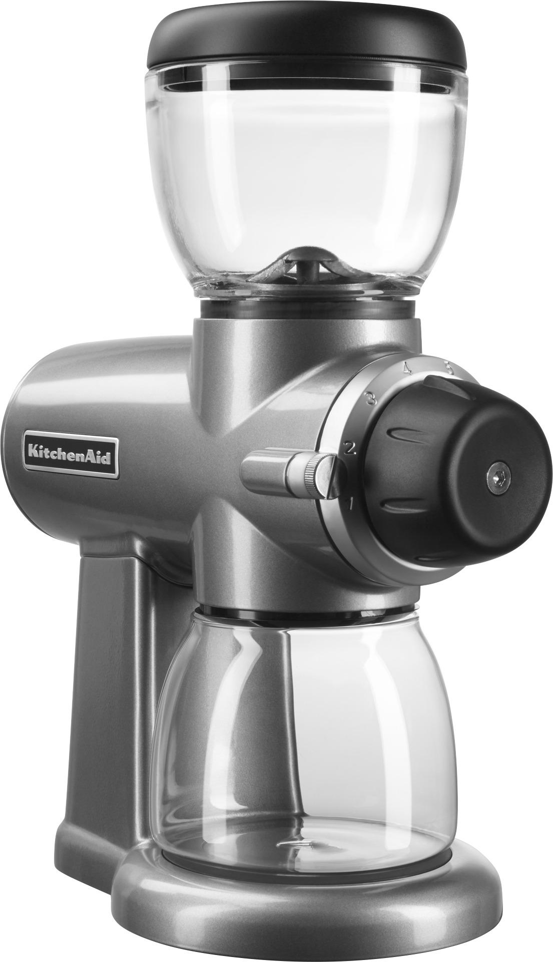 kitchen aid grinder stand alone cabinet kitchenaid 6 4 oz coffee multi kcg0702cu best buy contour silver front zoom