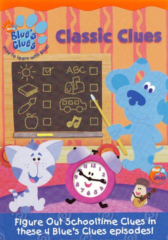 Blue's Clues Season 1 Dvd : blue's, clues, season, Blue's, Clues:, Classic, Clues, [DVD]