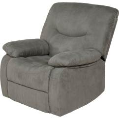 Recliner Chairs Cheap Fishing Chair Harness Small Best Buy Relaxzen Rocker Gray
