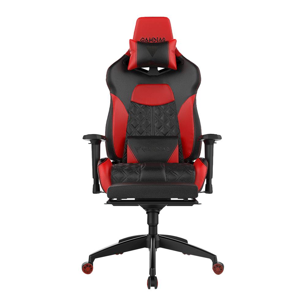 gaming chairs infinity massage chair reviews video game best buy gamdias achilles p1 black red front zoom