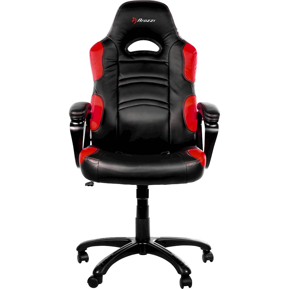 chairs for gaming resin wicker white best buy arozzi enzo chair red