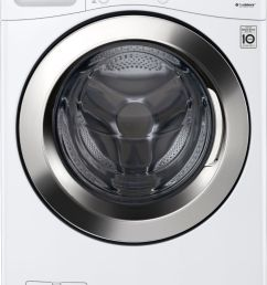 ft 12 cycle front loading smart wi fi washer with 6motion technology white wm3700hwa best buy [ 3301 x 4598 Pixel ]