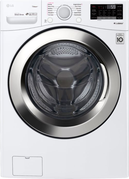 small resolution of ft 12 cycle front loading smart wi fi washer with 6motion technology white wm3700hwa best buy