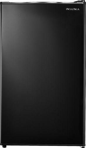 Insignia™ - 3.3 Cu. Ft. Mini Fridge - Black