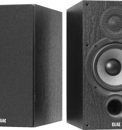 elac debut 2 0 6 5 2 way bookshelf speakers pair black ash db62 bk best buy [ 4043 x 3006 Pixel ]