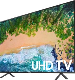 samsung 65 class led nu7100 series 2160p smart 4k uhd tv with hdr black un65nu7100fxza best buy [ 2726 x 2840 Pixel ]