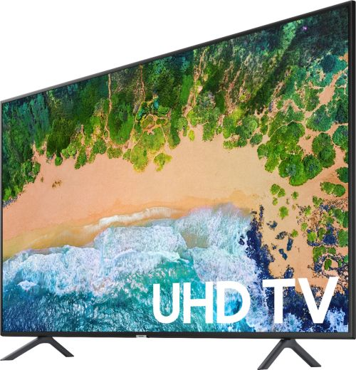 small resolution of samsung 65 class led nu7100 series 2160p smart 4k uhd tv with hdr black un65nu7100fxza best buy