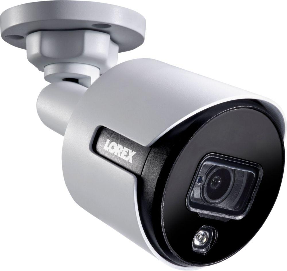medium resolution of lorex 8 channel 8 camera indoor outdoor wired 4k 2tb dvr surveillance system white lhv51082t8kxw best buy
