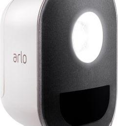 arlo indoor outdoor smart home security light wire free weather resistant motion sensor rechargeable add on al1101 100nas best buy [ 743 x 1085 Pixel ]