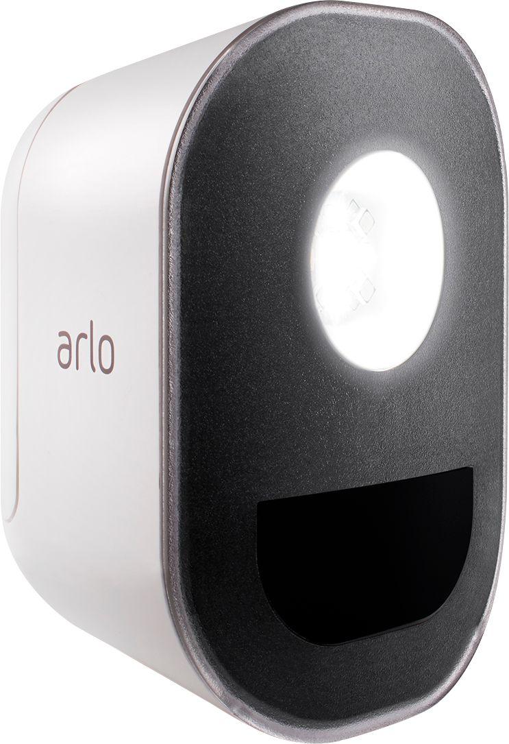 medium resolution of arlo indoor outdoor smart home security light wire free weather resistant motion sensor rechargeable add on al1101 100nas best buy