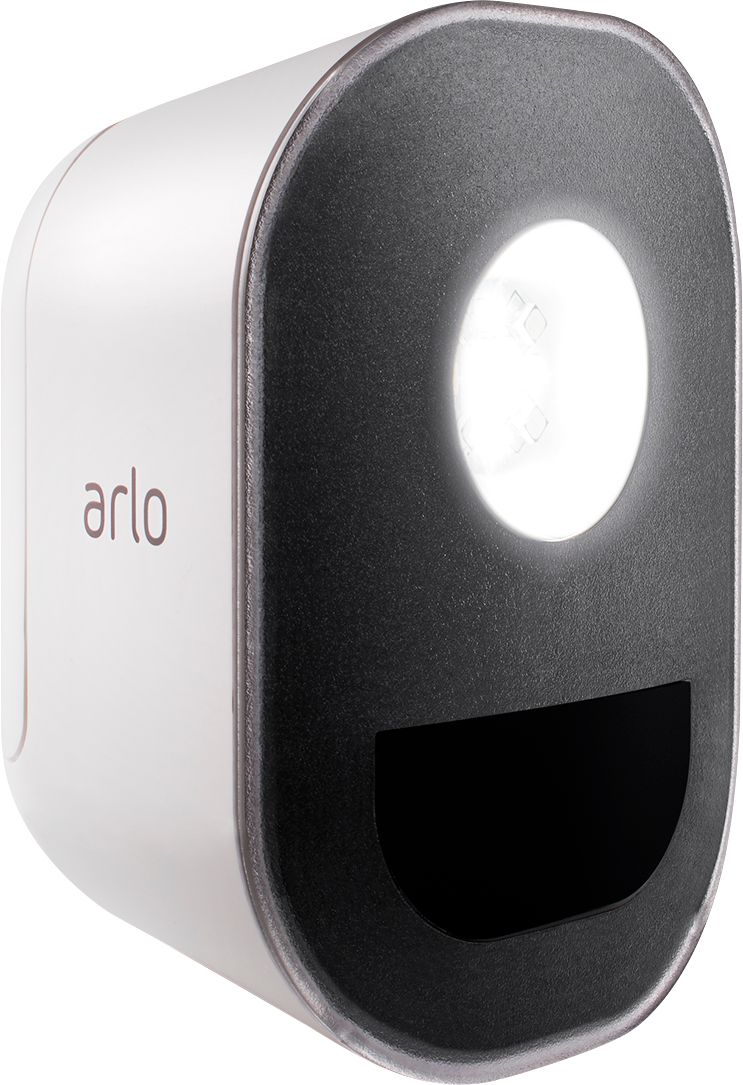hight resolution of arlo indoor outdoor smart home security light wire free weather resistant motion sensor rechargeable add on al1101 100nas best buy
