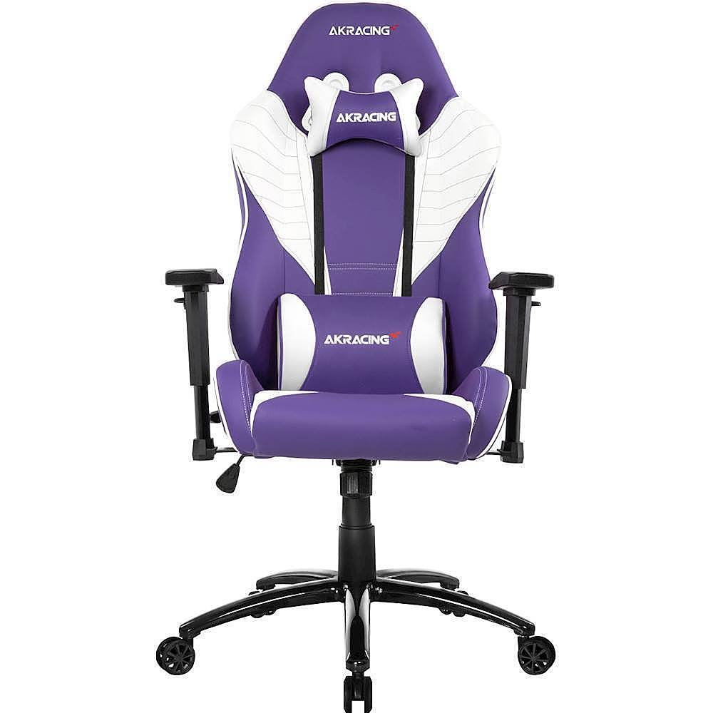lilac office chair sheepskin rug on akracing core series sx gaming blue ak lavender best buy front zoom