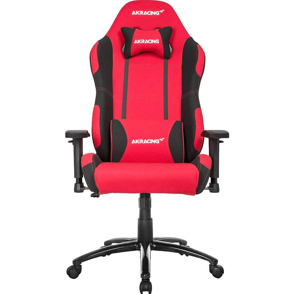 how much does a gaming chair cost backyard fire pit chairs video game best buy akracing core series ex wide red black front zoom