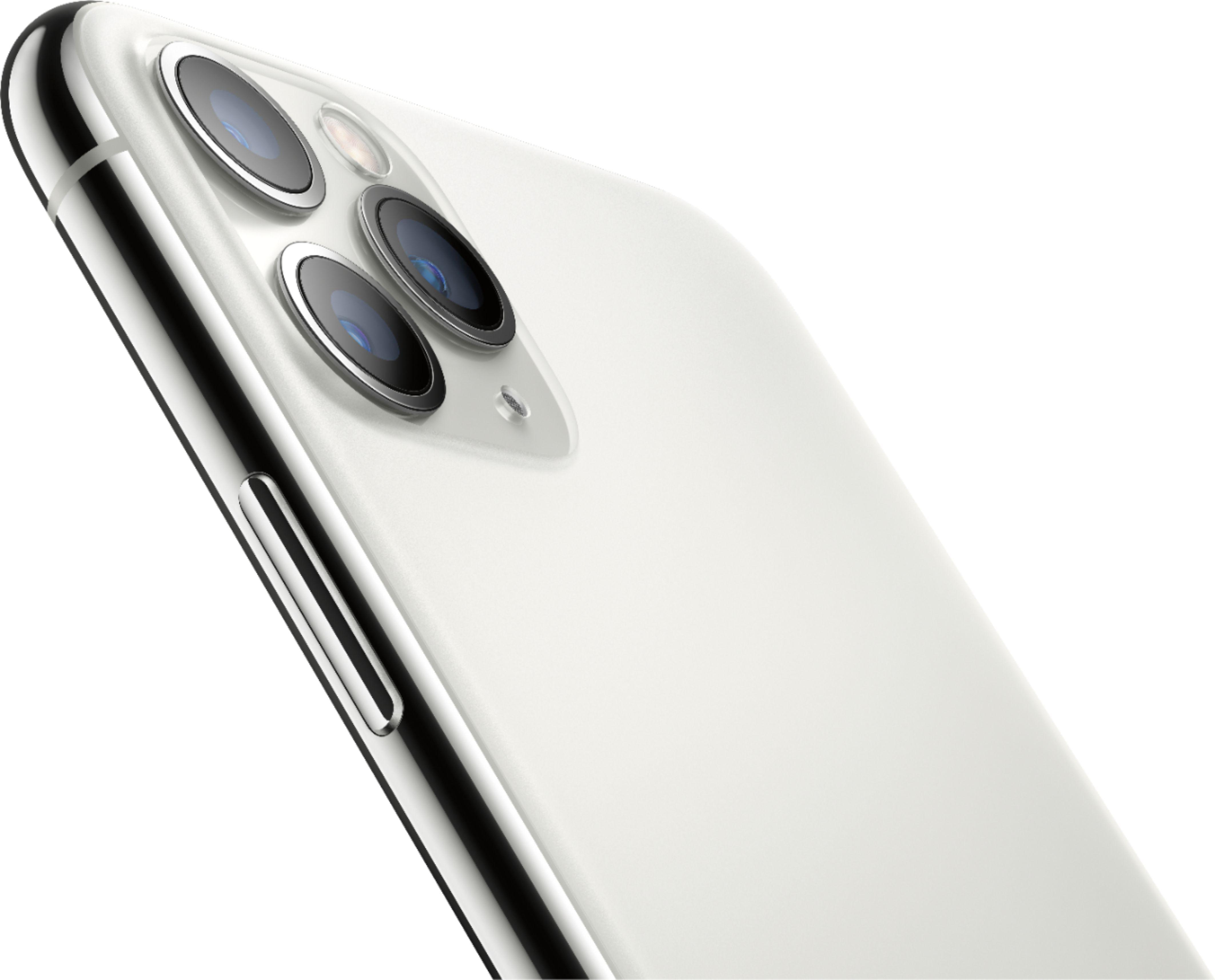 Apple Iphone 11 Pro Max 512gb Silver Unlocked Mwgq2ll A Best Buy