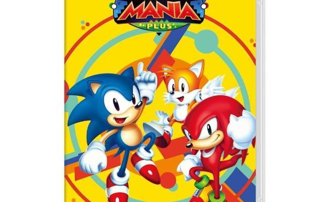 Sonic Mania Plus Nintendo Switch Sm 77079 7 Best Buy