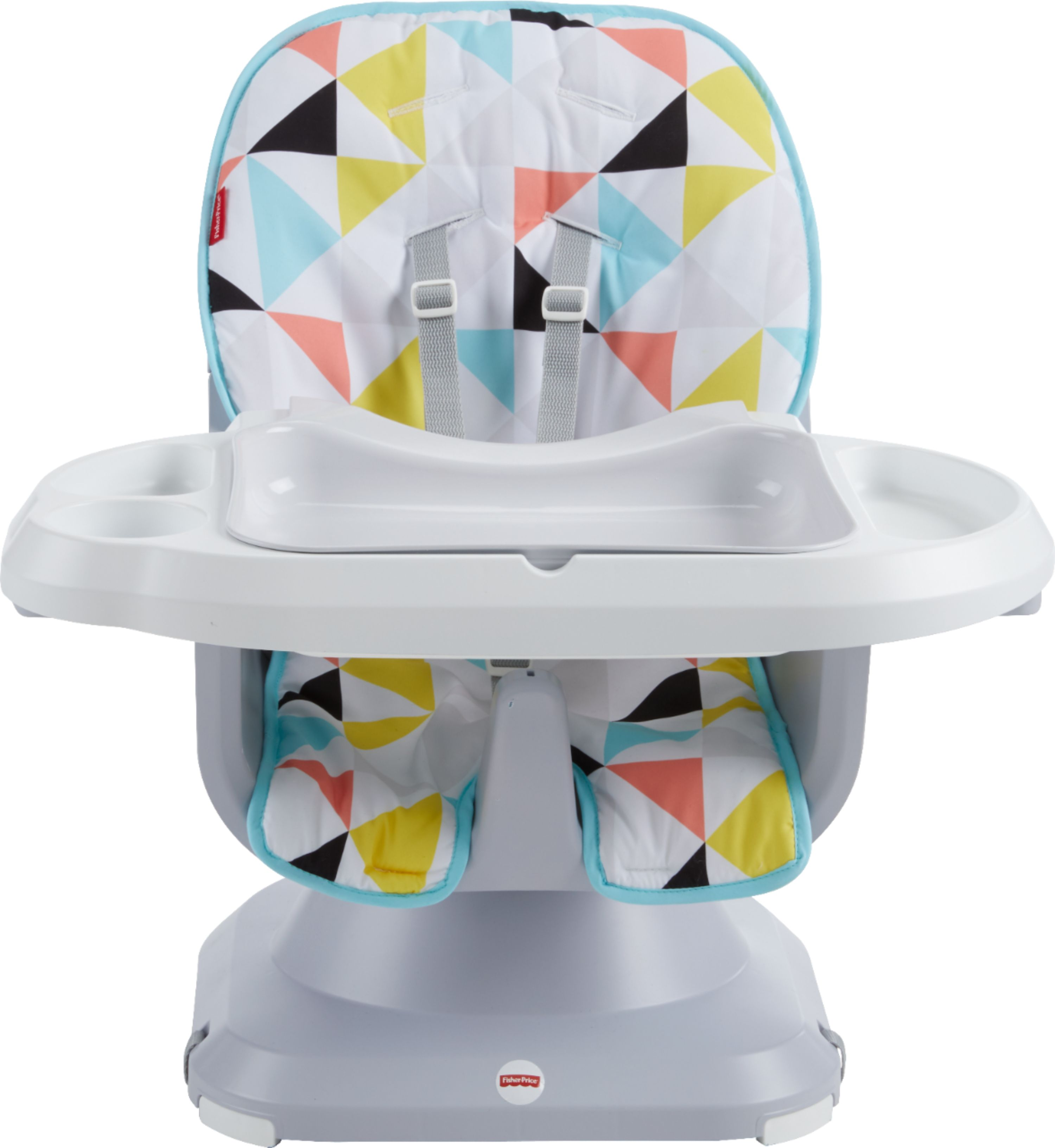 fisher price spacesaver high chair cover outdoor table and set gray flg95 best buy multi front zoom