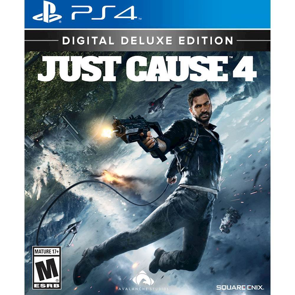 Just Cause 4 Digital Deluxe Edition PlayStation 4