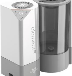 vaporizer humidifier ice white element s best buy [ 1463 x 1902 Pixel ]