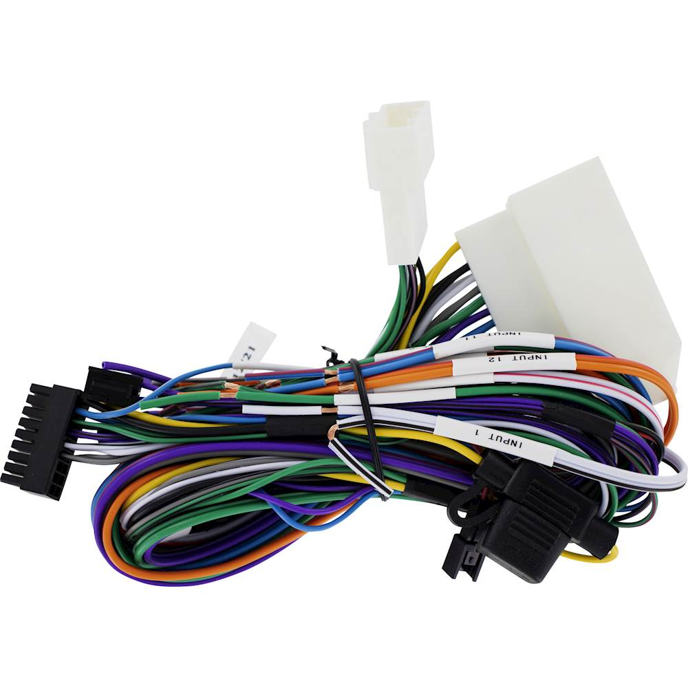 hight resolution of maestro amplifier replacement t harness for select toyota lexus and subaru vehicles black hrn ar to2 best buy