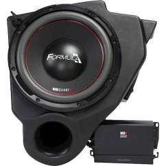 Dual Voice Coil Subwoofer Box Prodigy Brake Mb Quart 10 4 Ohm With Enclosure And 400w