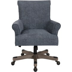 Desk Chair Best Buy Rocking Drawing Heavy Duty Task Chairs Osp Designs Megan Home Office Polyester Blue Brushed Grey