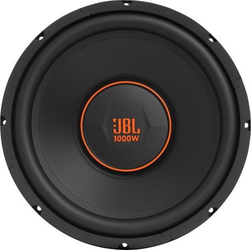 small resolution of jbl gx series 12 single voice coil 4 ohm subwoofer black gx1200 best buy