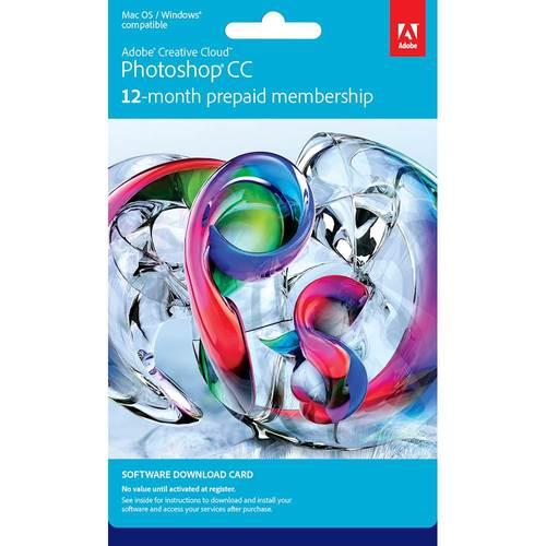 Adobe - Photoshop CC (1-Year Subscription)