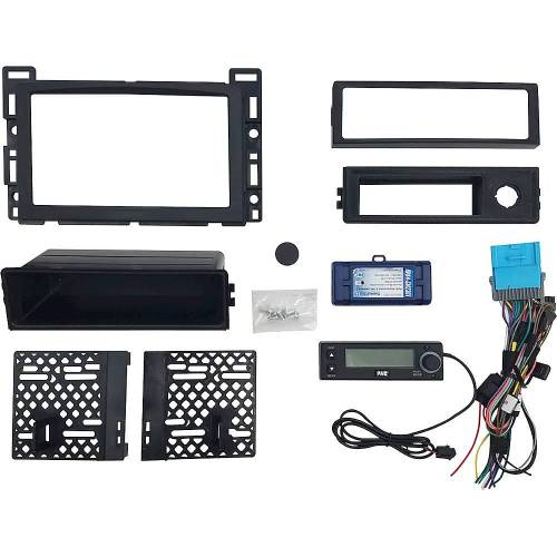 small resolution of pac integrated radio replacement kit for select chevrolet malibu and pontiac g6 vehicles black rpk4 gm2301 best buy