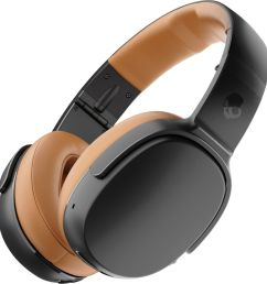 best buy skullcandy crusher 360 wireless over the ear headphones black tan s6mbw j373 [ 2928 x 3067 Pixel ]