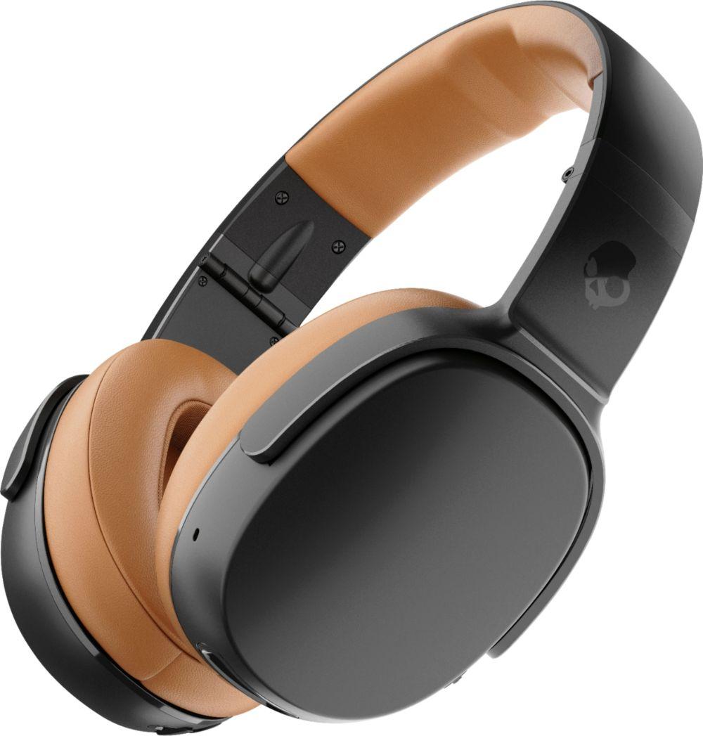 medium resolution of best buy skullcandy crusher 360 wireless over the ear headphones black tan s6mbw j373