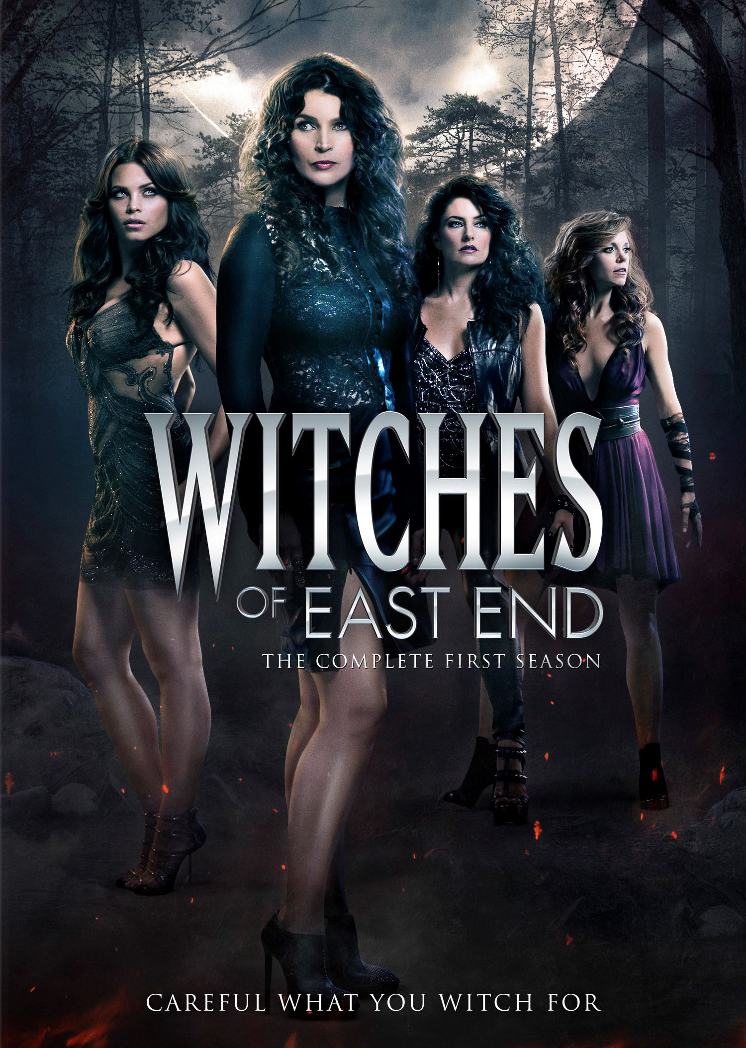 Witches Of East End Saison 3 : witches, saison, Witches, Complete, First, Season, Discs], [DVD]