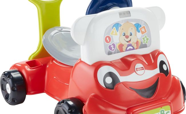 Fisher Price Laugh Learn 3 In 1 Smart Car Red Fnt03