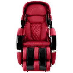 Osaki Os 3d Pro Cyber Massage Chair White Leather Armless Red Cyberred Best Buy Front Zoom