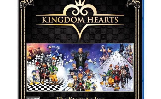 Kingdom Hearts The Story So Far Playstation 4 92186 Best Buy