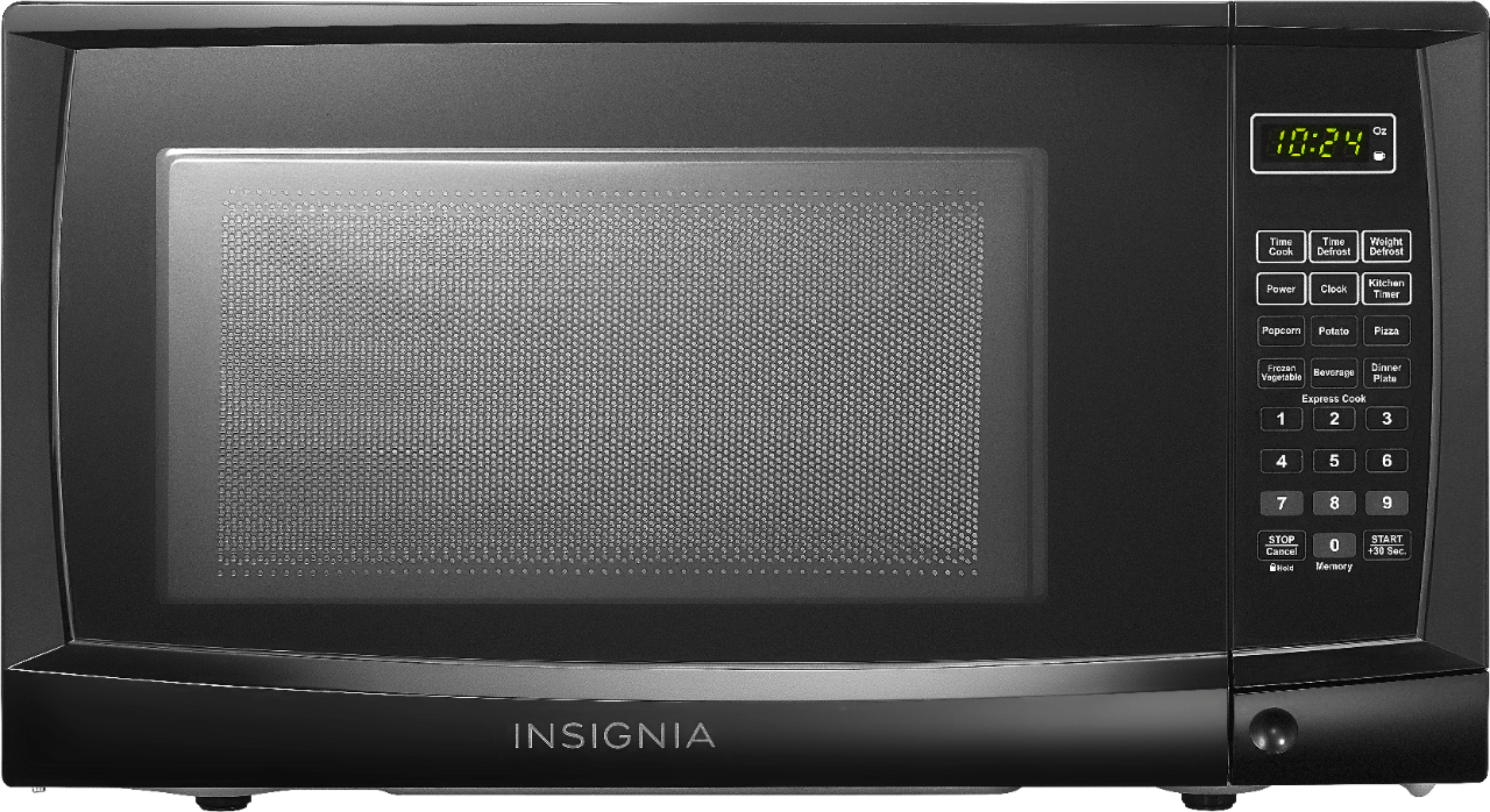 insignia 0 7 cu ft compact microwave black